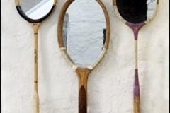 Tennis racket mirrors|Shower Doors Glass DC