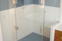 Neo Angle Frameless shower doors|Shower Door Glass DC