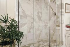 90 Degree Semi Frameless shower doors|Shower Door Glass DC