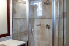 Neo Angle Semi Frameless shower doors|Shower Door Glass DC