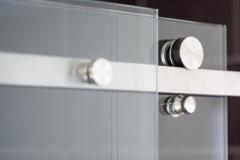 Sliding Serenity Frameless shower doors|Shower Door Glass DC