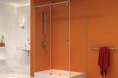 Frameless shower doors sliding Hydroslide|Shower Door Glass DC