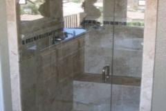 Inline Frameless shower doors|Shower Door Glass DC