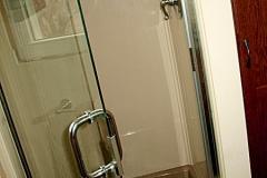 Single Semi Frameless shower doors|Shower Door Glass DC